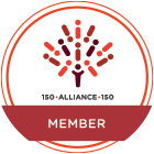 150Alliance Member badge - circle